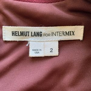 Helmut Lang Dresses - Helmut Lang For Intermix Burgundy Dress